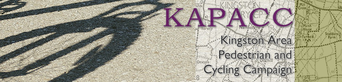 KAPACC - the Kingston Area Pedestrian and Cycle Campaign in Kingston St Mary, Somerset, UK.